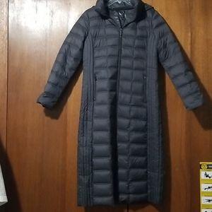 Michael Kors gunmetal packable down jacket medium